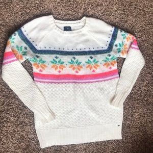 American Eagle Outfitters rainbow sweater!!